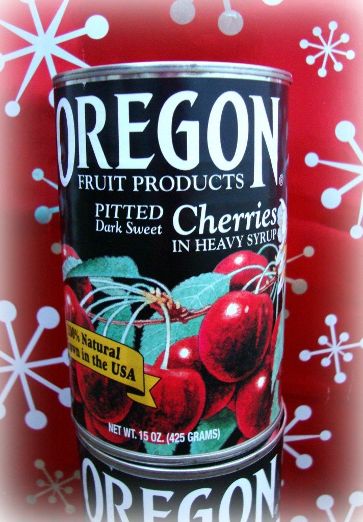Oregon Canned Cherries