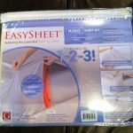 Easy Sheets Review and Giveaway (ends 1/4)
