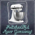 KitchenAid Mixer Giveaway {USA only Ends 6/2}