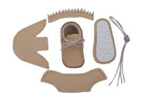 first baby shoes shoe making kit