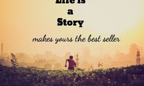 Make Your Own Story #sharegoodness #spreadpositivity