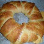 Hot Ham and Cheese Ring #Recipe