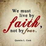 Faith Instead of Fear #sharegoodness #spreadpositivity