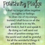 Positivity Pledge #sharegoodness #spreadpositivity
