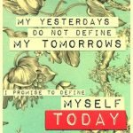 My Tomorrow #sharegoodness #spreadpositivity